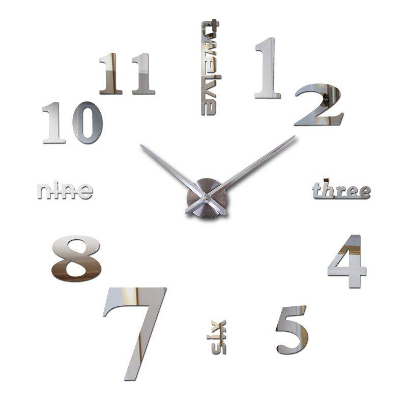 Shops Clock Large Modern 3D Wall Clock