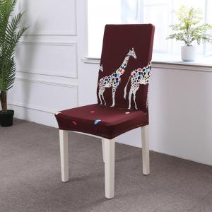 Multi-Seasonal Chair Cover of Cartoon Patterns for Common Use -
