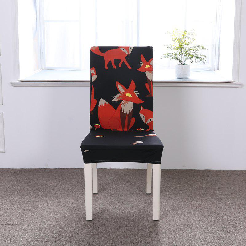 Unique Multi-Seasonal Chair Cover of Cartoon Patterns for Common Use