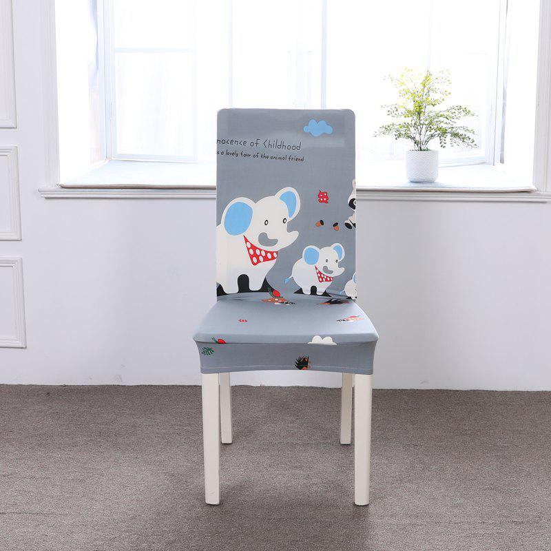 Hot Multi-Seasonal Chair Cover of Cartoon Patterns for Common Use