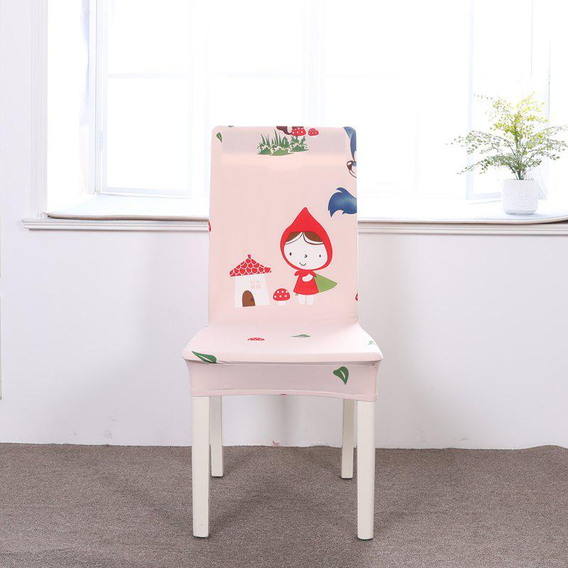 Affordable Multi-Seasonal Chair Cover of Cartoon Patterns for Common Use