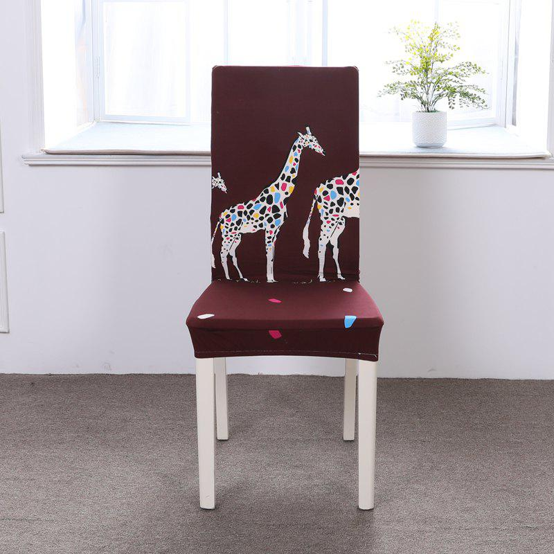 Fashion Multi-Seasonal Chair Cover of Cartoon Patterns for Common Use