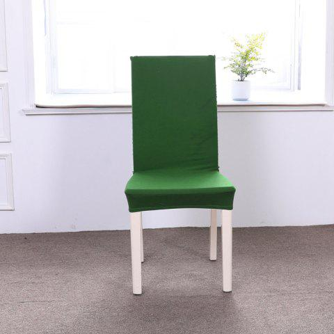 Outfit Concise Siamesed Chair Cover of Pure Color for Common Use