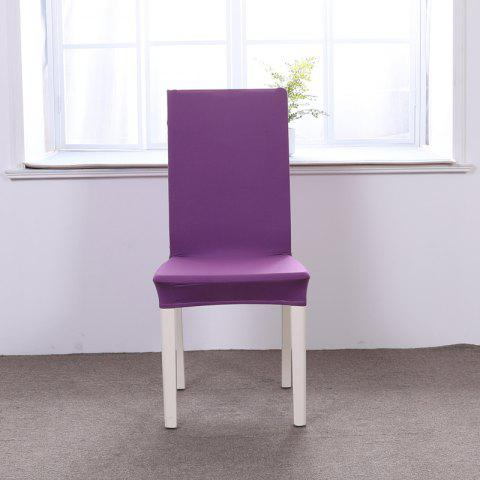 Latest Concise Siamesed Chair Cover of Pure Color for Common Use