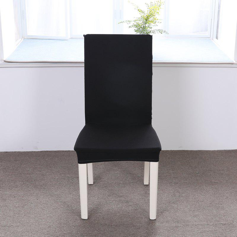 Outfits Concise Siamesed Chair Cover of Pure Color for Common Use