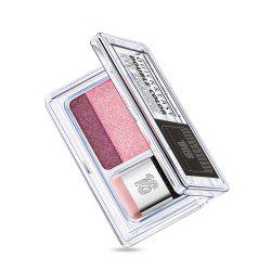 Daralis 2Colors Eye Shadow Durable Maquillage Gradient Mat Imperméable -