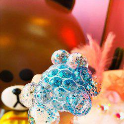 Decompression Pinched Gold Powder Grape Crystal Ball Give Vent  Toy -