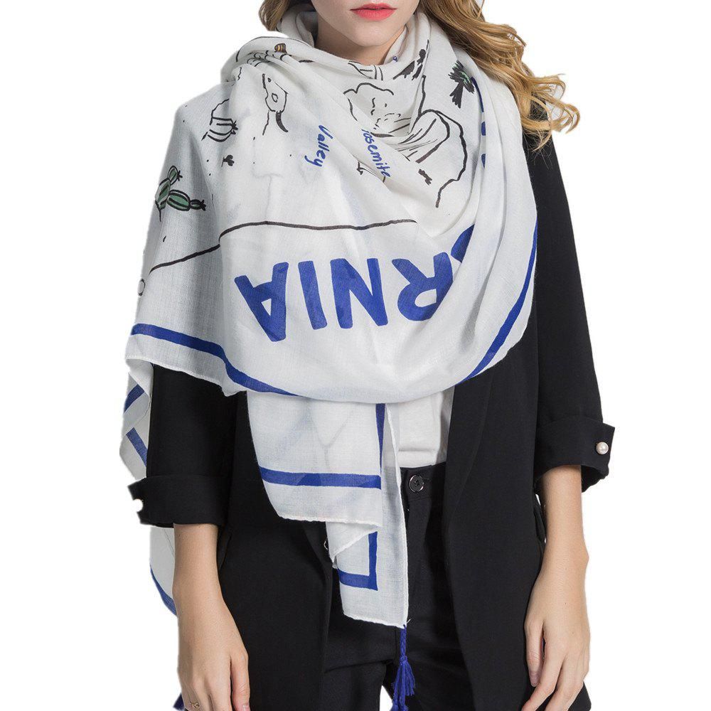 Affordable Women Chiffon Lightweight Fashion Scarf