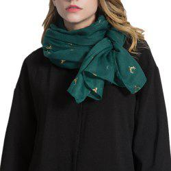 Women Lightweight Scarf Soft Fashion Cotton Wrap -