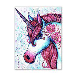 W358 Unicorn Unframed Art Wall Canvas Prints for Home Decorations -