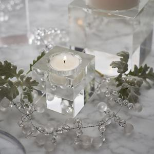 European Style Candle Crystal Glass Home Furnishing Candlestick Decoration -