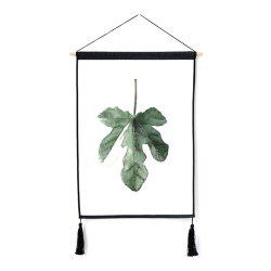 Fashion Plant Decoration Hanging Cloth Print -