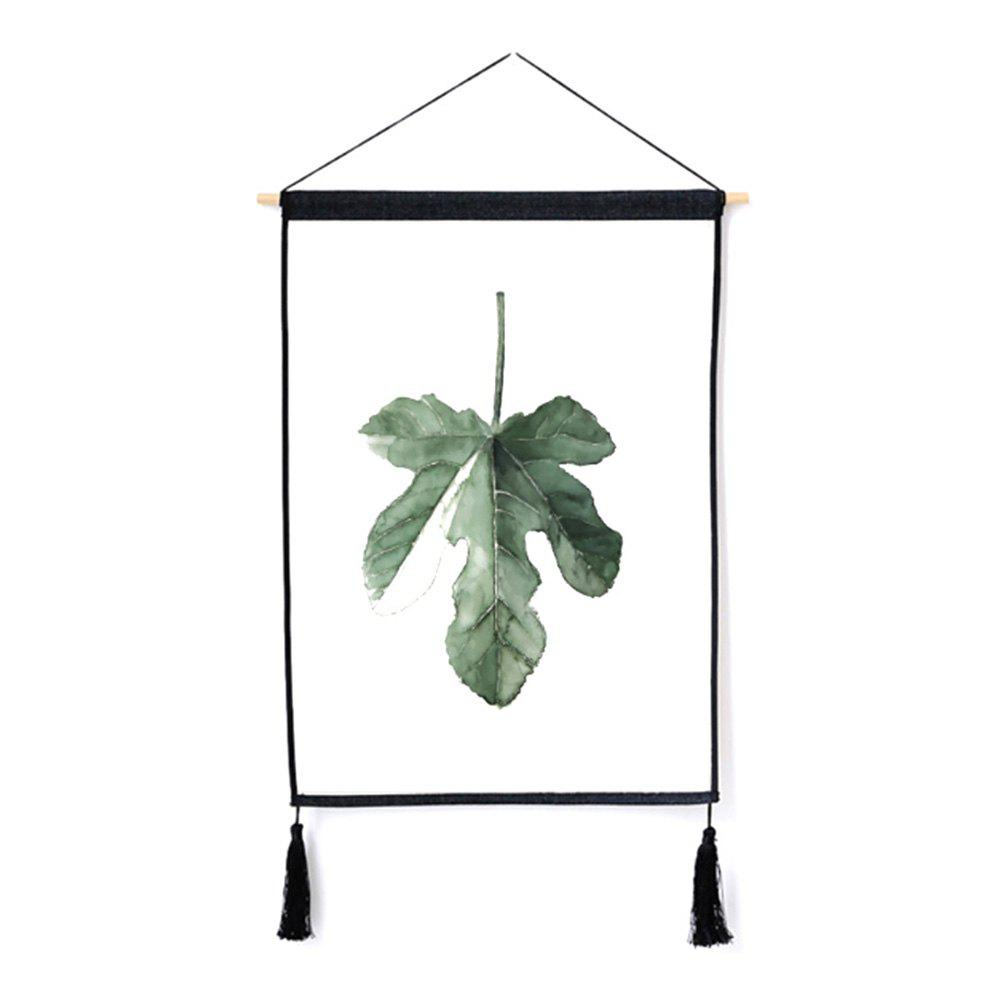 Sale Fashion Plant Decoration Hanging Cloth Print