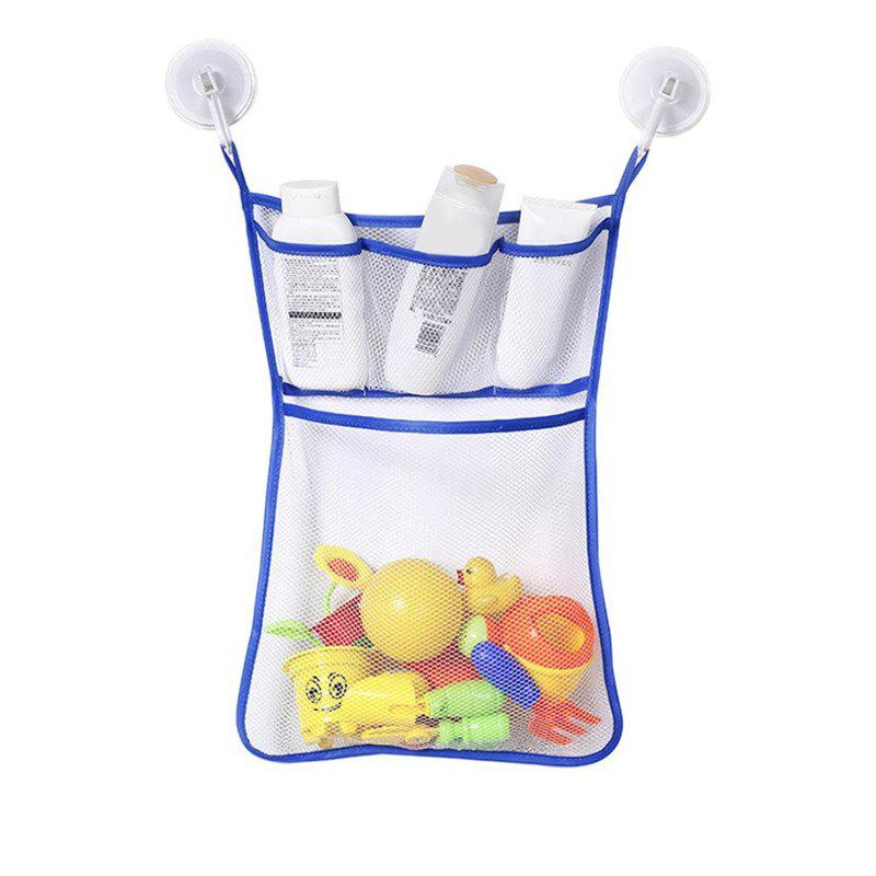 Ocean Blue Baby Bathroom Hanging Mesh Bath Toy Storage Bag New ...