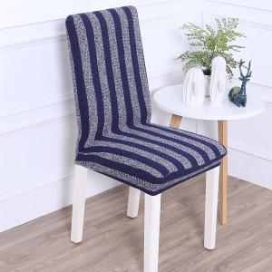 Striped and Thickened Siamese Chair Cover -