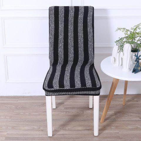 Hot Striped and Thickened Siamese Chair Cover