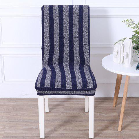 Online Striped and Thickened Siamese Chair Cover