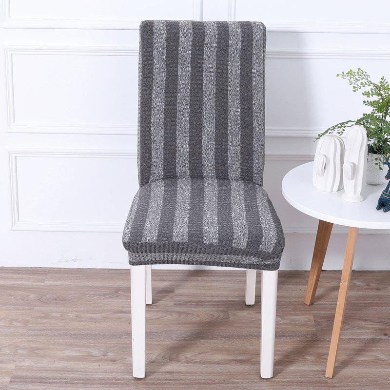Fashion Striped and Thickened Siamese Chair Cover
