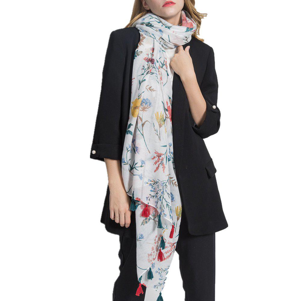 Buy Super Soft with Tassel Warm Shawl Scarf for Women