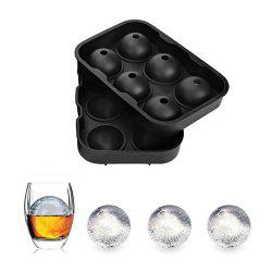 6 Hole Silicone Ice Hockey Mould -