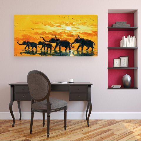 New W365 Elephants Unframed Art Wall Canvas Prints for Home Decorations