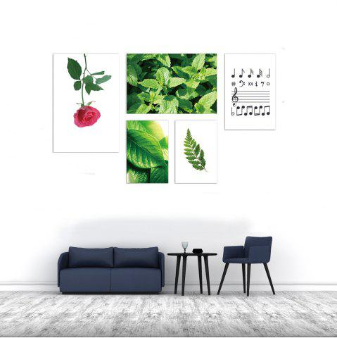 Discount W371 Plants Unframed Wall Canvas Prints for Home Decorations 5PCS