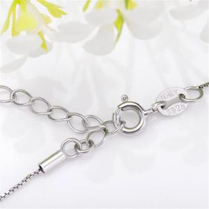 Korean Necklace S925 Silver Clavicle Chain -