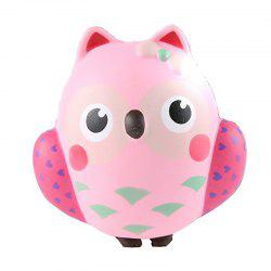 Jumbo Squishy Kawaii Cute Owl Cream Scented Toy -
