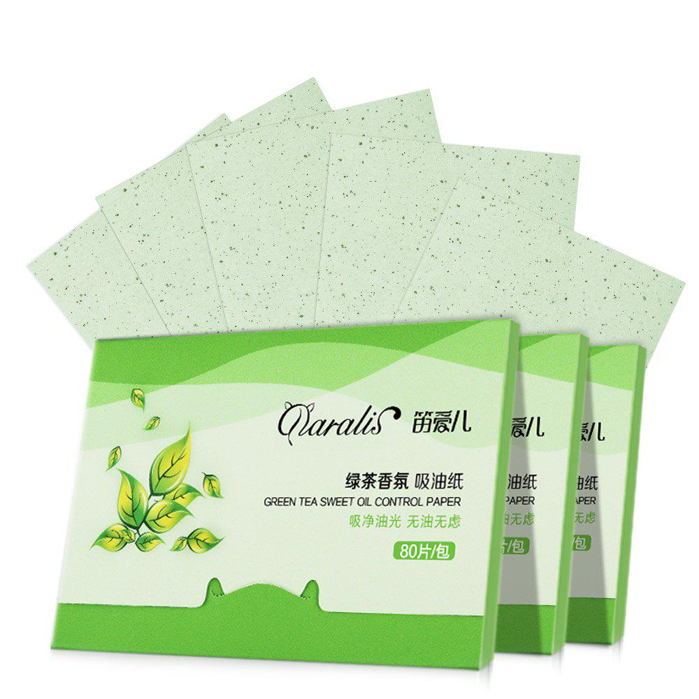 Chic Daralis Oil-Absorbing Sheet Moisturizing Clean Pores 80pcs
