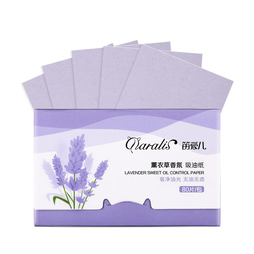 Fancy Daralis Oil-Absorbing Sheet Moisturizing Clean Pores 80pcs