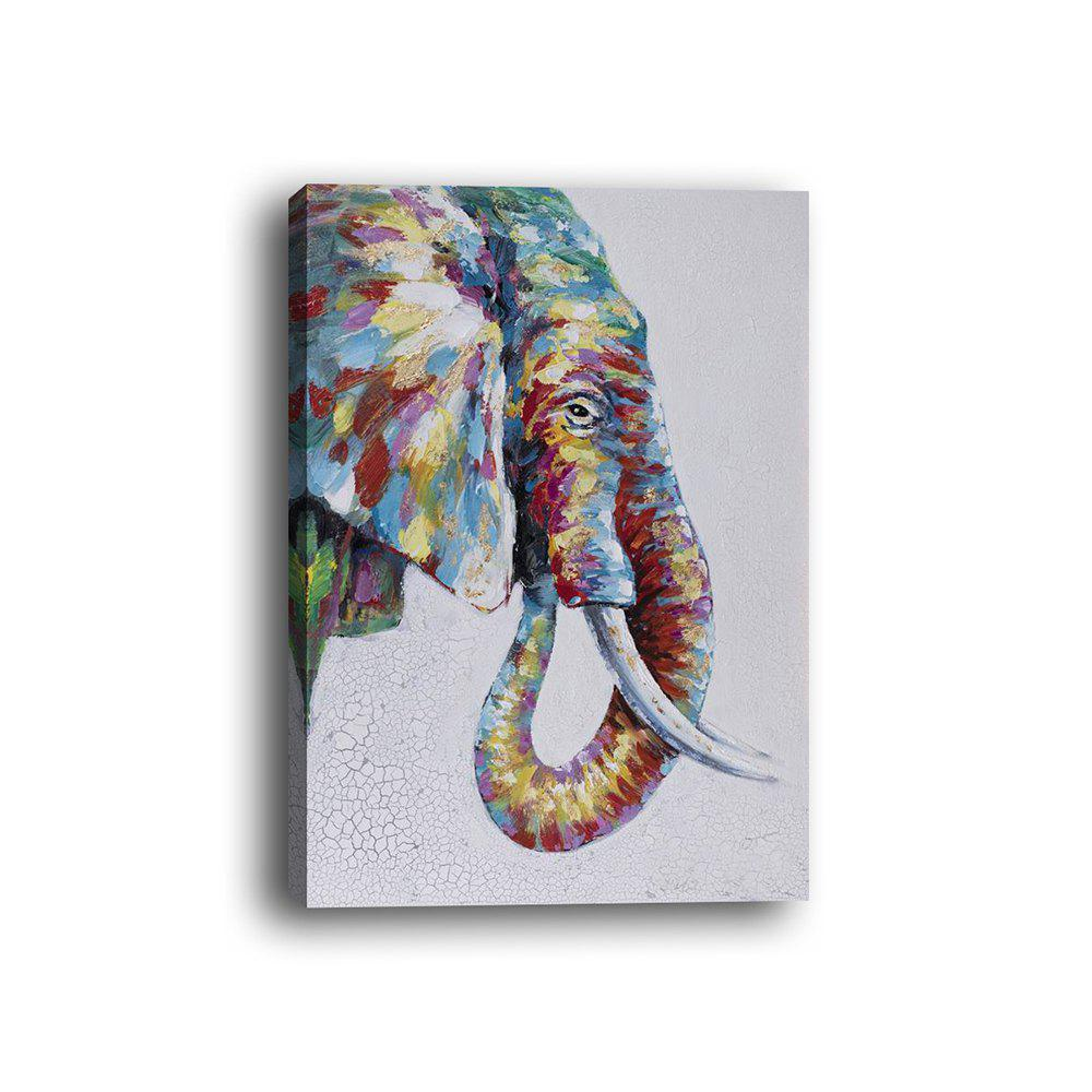 Shops Framed Canvas Modern Bedroom Background Wall Abstract Elephant Nose Print