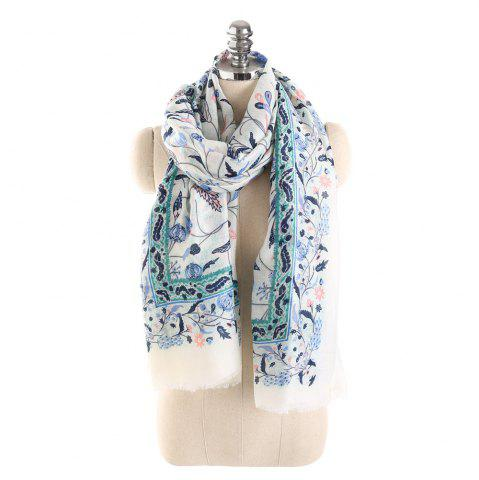 Affordable Hot Sale of New Simple Wind Tending Cotton and Hemp Warm Scarf