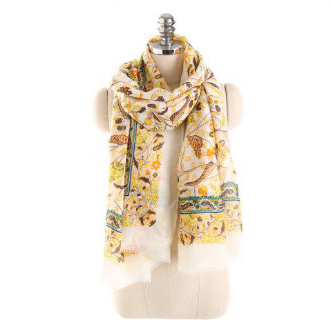 Hot Hot Sale of New Simple Wind Tending Cotton and Hemp Warm Scarf