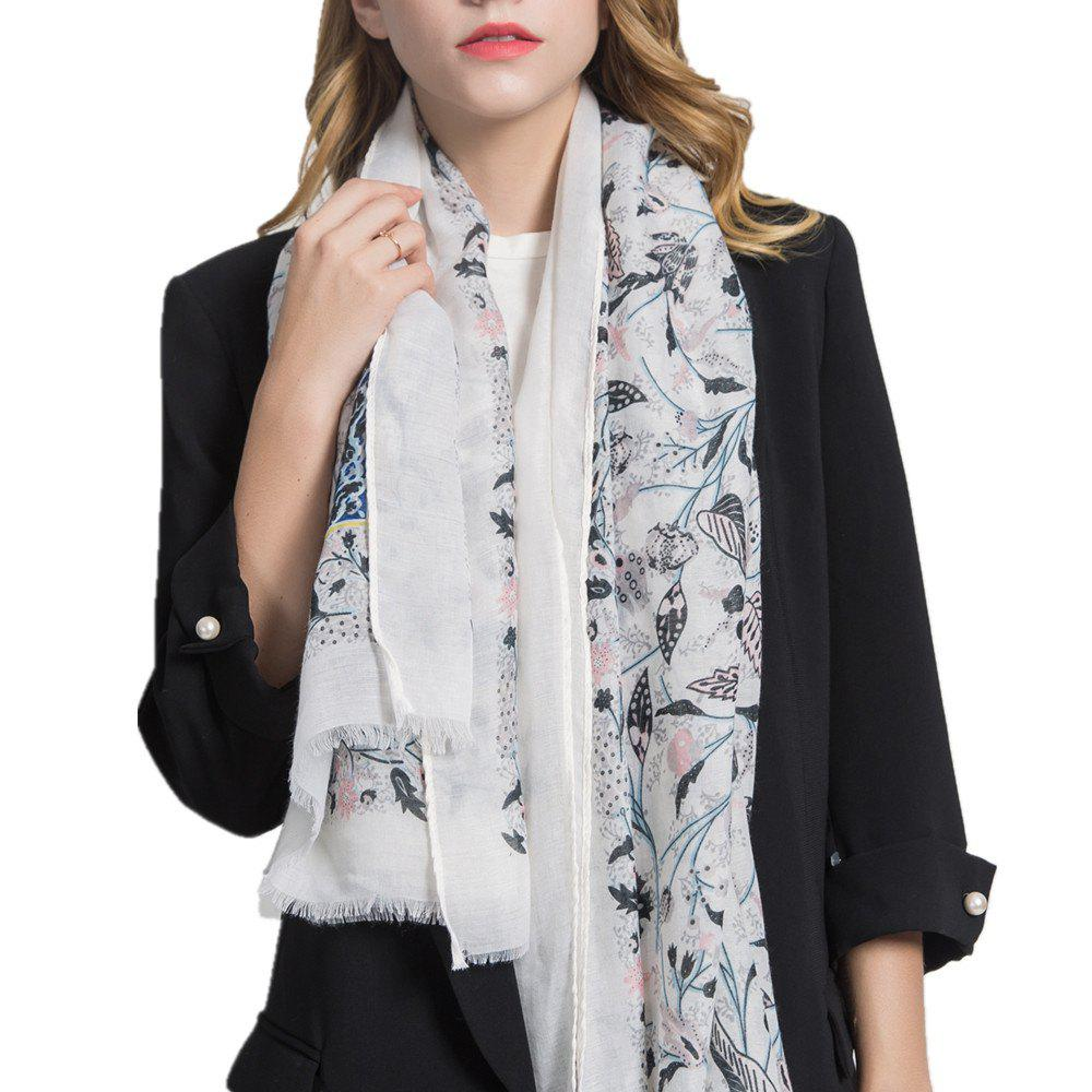 Outfits Hot Sale of New Simple Wind Tending Cotton and Hemp Warm Scarf