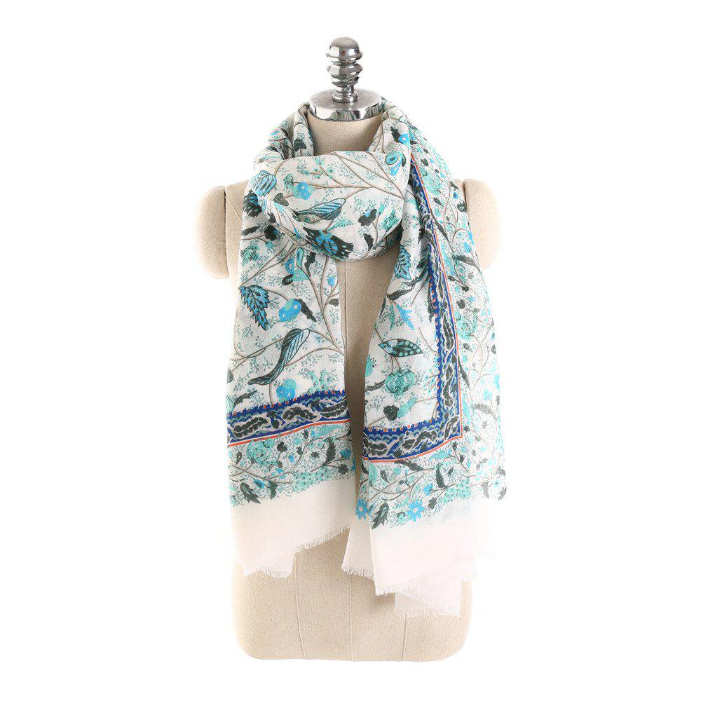 Best Hot Sale of New Simple Wind Tending Cotton and Hemp Warm Scarf