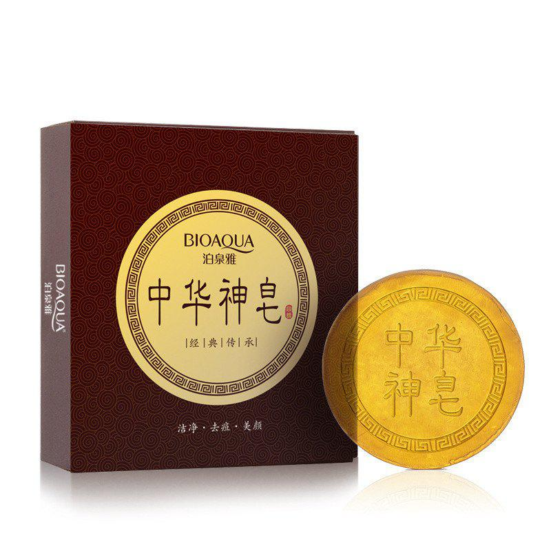 Outfit Anti Acne and Beauty Skin Chinese Soap 100G