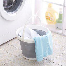 Folding Car Wash Bucket Fishing Basin -