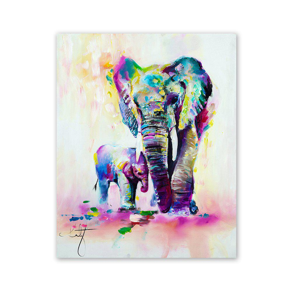 Unique W361 Art Elephant Unframed Wall Canvas Prints for Home Decorations