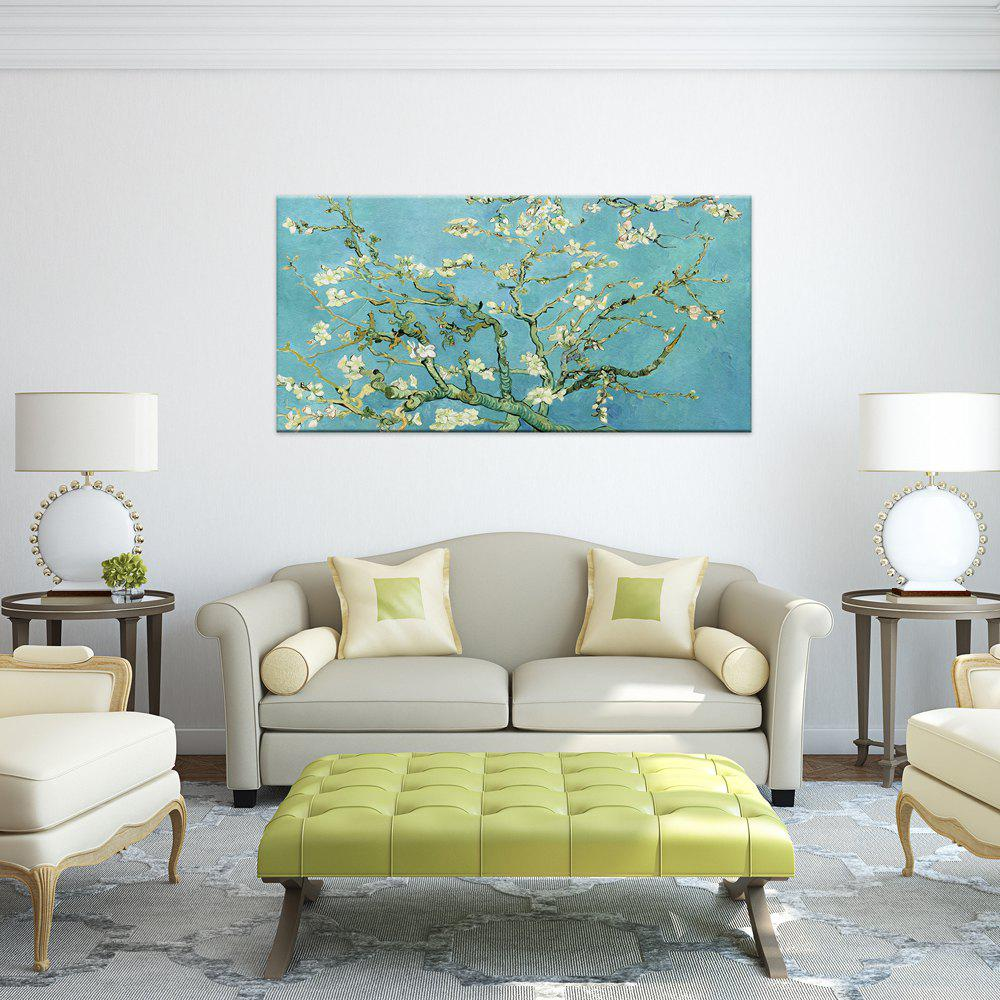 Trendy W366 Branch and Flower Unframed Art Wall Canvas Prints for Home Decorations