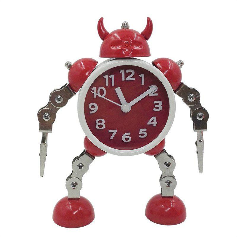 Chic Robot Clock Kids Toy Gift
