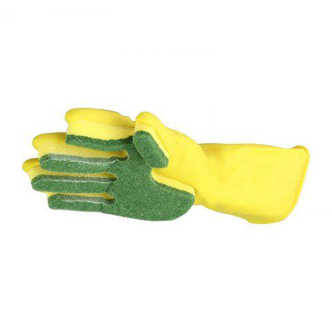 Online Emulsion Scrubbing Gloves Compound Sponge Cleaning Dishwashing