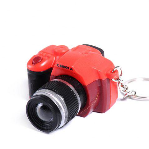 Hot LED Keychain Camera Model with Sound