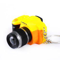 LED Keychain Camera Model with Sound -