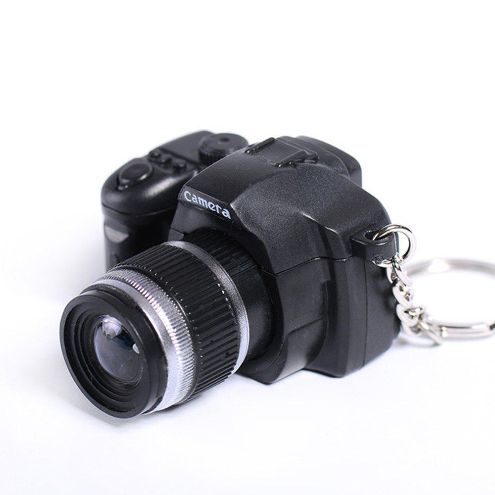 Fashion LED Keychain Camera Model with Sound