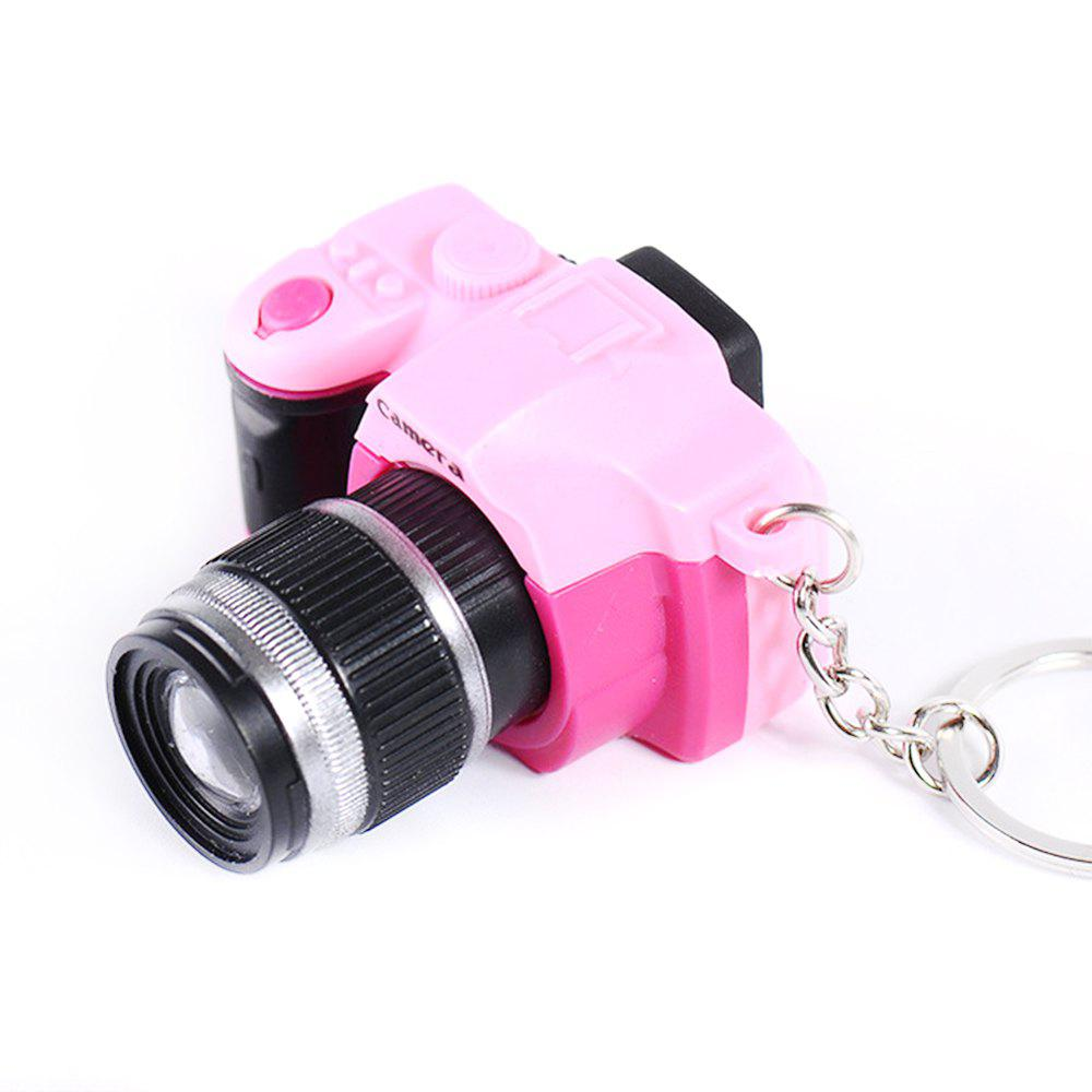 Chic LED Keychain Camera Model with Sound