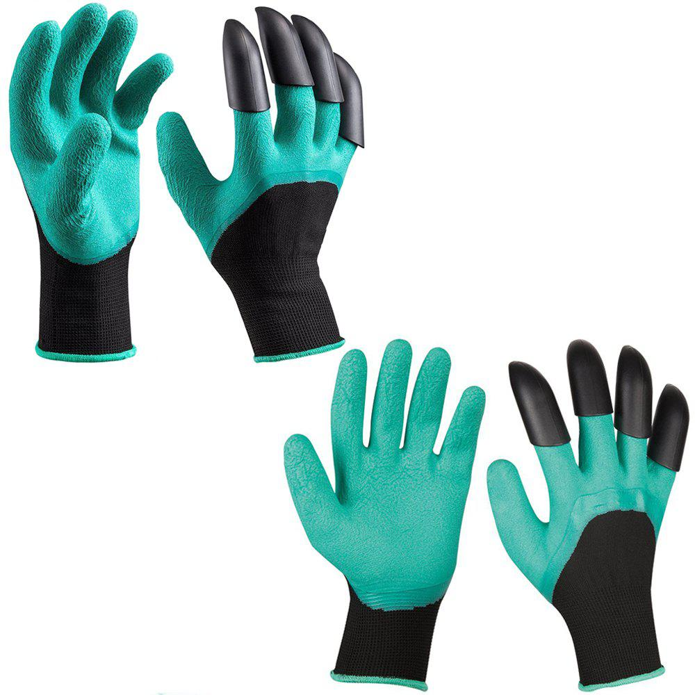 Fashion Garden Gardening Gloves with Claws Quick and Easy to Dig and Plant 2 Pair