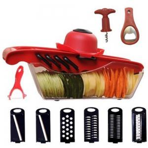 Vegetable Chopper 12 in 1 Multi-Functional Grater Cutter Sets Food Container -