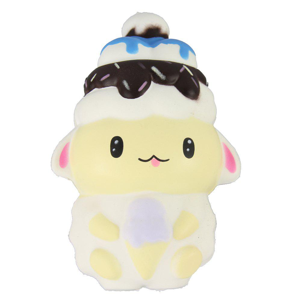 Shops Jumbo Squishy White Sheep Relieve Stress Toys
