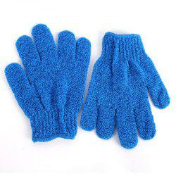 1 Pair Shower Bath Gloves Exfoliating Wash Skin Spa Massage Scrub -