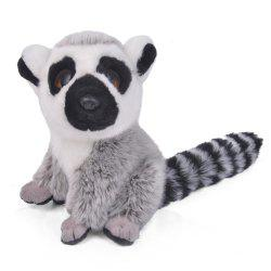 Simulation Tropical Forest Animal Lemur Stuffed Plush Toys -